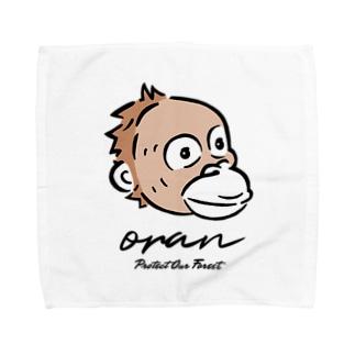 オラン (ノーマルロゴS) Towel handkerchiefs