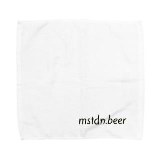mstdn.beer Towel handkerchiefs
