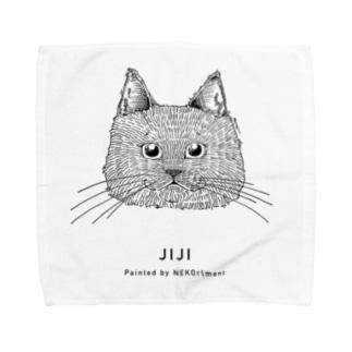 JIJIさん[1CATS] Towel handkerchiefs