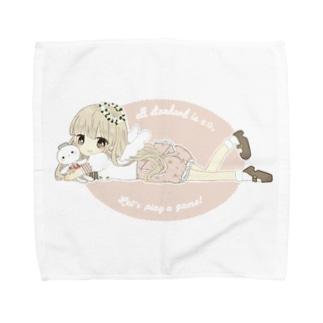 まこぴこハンカチ Towel handkerchiefs