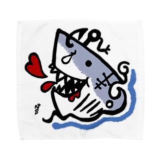 ホオジロー(ガブ) Towel handkerchiefs