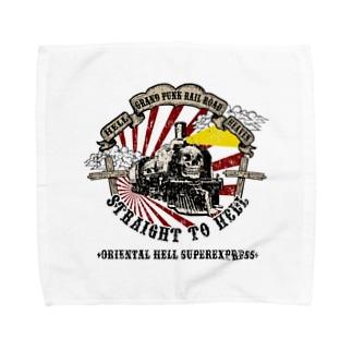 地獄超特急 Towel handkerchiefs