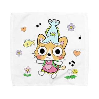 猫のみーちゃん Towel Handkerchief