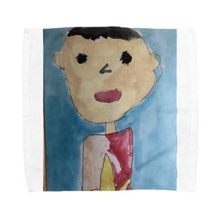 じがぞうだぞ Towel handkerchiefs