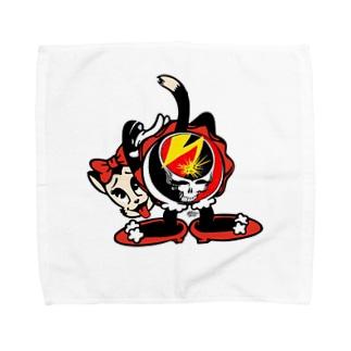 グレートフルニャンニャン Towel handkerchiefs