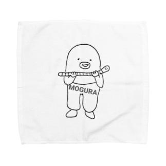 もぐら✕みみず Towel handkerchiefs