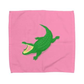 ワニ Towel handkerchiefs