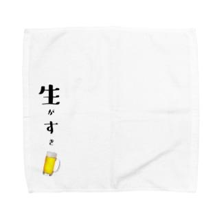 生がすき Towel handkerchiefs