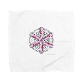 デーモンの召喚 Towel handkerchiefs