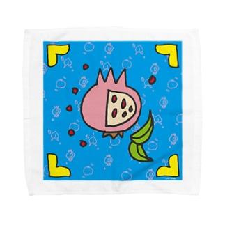 三柑正方形 Towel handkerchiefs