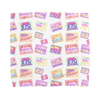 夜に輝くラブホテル Towel handkerchiefs