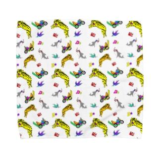 虎ちゃんとナカーマたち Towel handkerchiefs