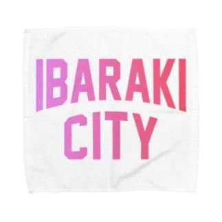 茨木市 IBARAKI CITY Towel Handkerchief