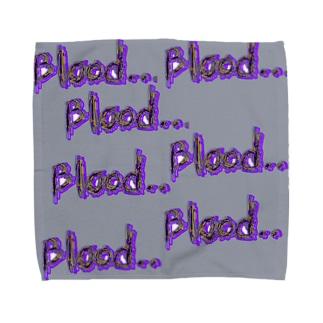 Blood...towel Towel handkerchiefs