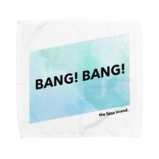 LIME - BANG! BANG! series Towel handkerchiefs