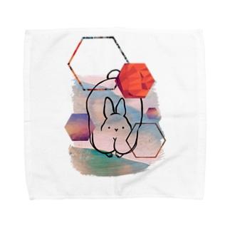 葉っぱなぞいらぬ。 Towel handkerchiefs