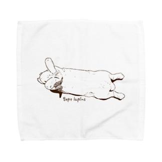 のびーる子うさぎちゃん Towel handkerchiefs