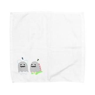 君はだれ?? Towel handkerchiefs