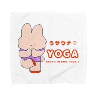 にゃんこ日替り湯のうサウナ♡yoga🧘♀️ Towel handkerchiefs