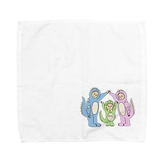 恐竜るいくん Towel handkerchiefs
