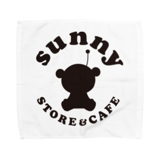 sunny STORE&CAFE ロゴ Towel handkerchiefs