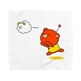 sunnyともくもく Towel handkerchiefs