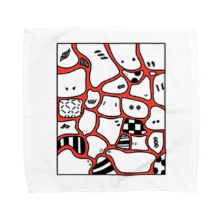 CHIMI☆CHIMI MOURYOU 赤 Towel handkerchiefs