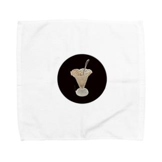 綺麗に食べましたよ、私!!② Towel handkerchiefs