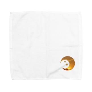 夕方午後5時 Towel handkerchiefs