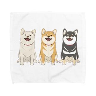 三柴トリオ Towel handkerchiefs
