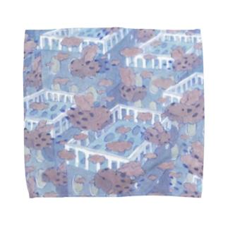 ダルメシアンのわたあめ Towel handkerchiefs
