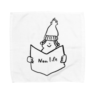 new life Towel handkerchiefs