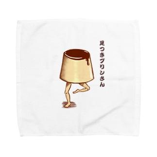 足つきプリンさん Towel handkerchiefs