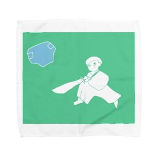 真剣!おむつ勝負 Towel handkerchiefs