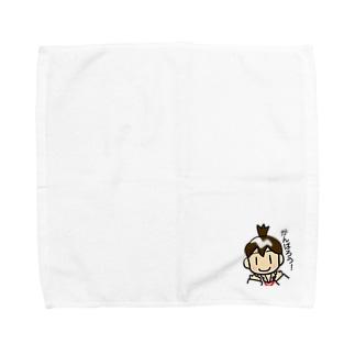 MSWアイコさん Towel handkerchiefs