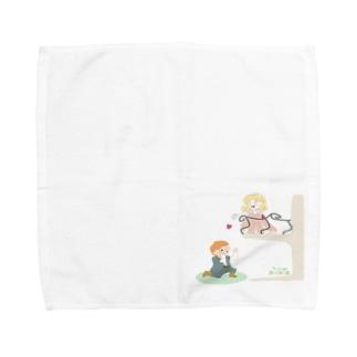 二階から目薬 Towel handkerchiefs