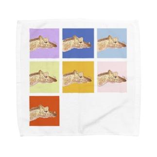 はじめまして ちいさいひと Towel handkerchiefs