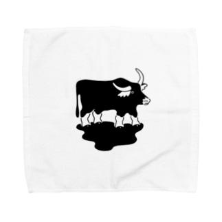 スイギュウのグッズ Towel handkerchiefs