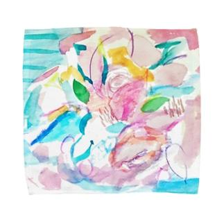 花のイロ Towel handkerchiefs