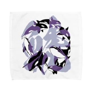 ムラ鯱 Towel handkerchiefs