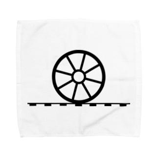 車輪3 Towel handkerchiefs