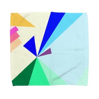 その先へ Towel handkerchiefs