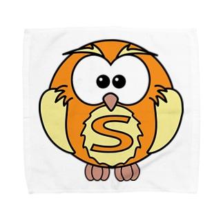 スーパーふくろうさん Towel handkerchiefs