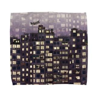 九龍城砦 Towel handkerchiefs