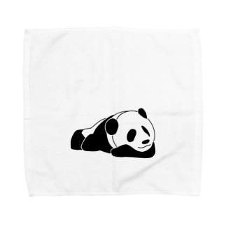 ジャパニーズスタンダードのおやすみパンダ Towel handkerchiefs