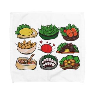 居酒屋メニューセット Towel handkerchiefs