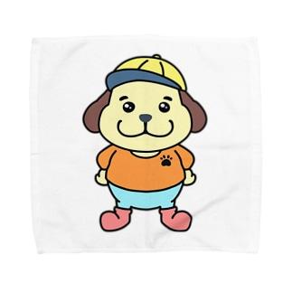 トッパー・ラッキードッグ・ジュニアくん Towel handkerchiefs