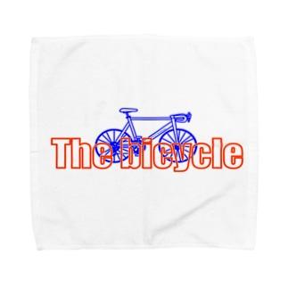 ネオン自転車 Towel handkerchiefs