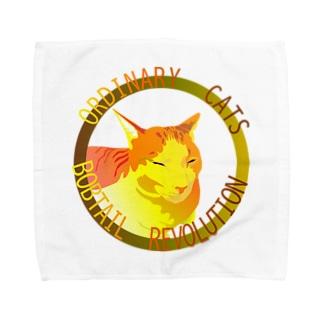 ORDINARY CATS05(秋) Towel Handkerchief