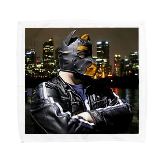 Leather Dog MASK タオルハンカチ